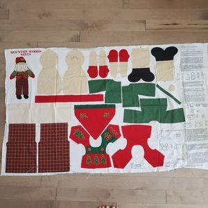 VIP Cranston cut and sew Mountain Woods Santa